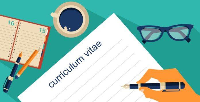 o que deve saber antes de escrever o seu curriculum vitae