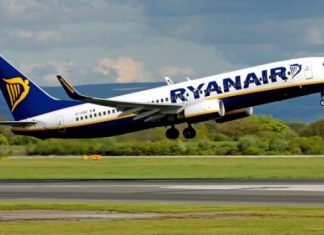 Ryanair recruta Assistentes de Bordo em Portugal