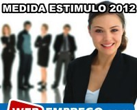 Apoio à contratação com Medida Estímulo 2012
